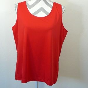 Chico's size 3 red tank top
